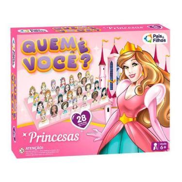 Imagem de Jogo Quem É Você - Princesas  Pais & Filhos