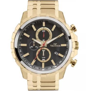 e795a2b8a7f Relógio Masculino Technos Performance JS15EY 4P Dourado