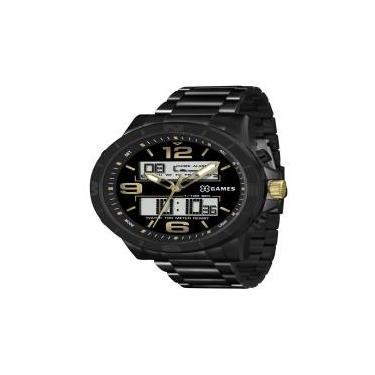 9085ab515a1 Relógio X Games Masculino Xmnsa001 P2px Anadigi Black Lince