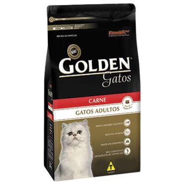 Ração Seca PremieR Pet Golden Gatos Adultos Carne - 3 Kg