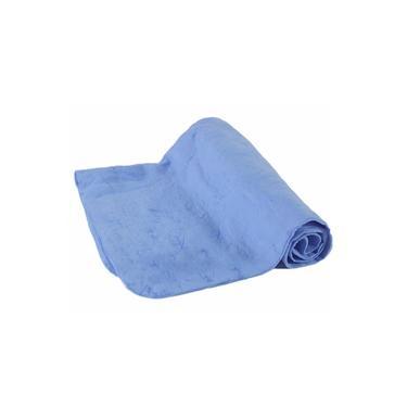 Toalha Esportiva com Alta Absorcao Azul Nautika