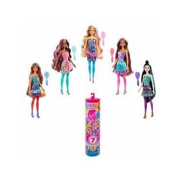 Imagem de Boneca Barbie Estilo Surpresa - Color Reveal - Festa de Confete - 7 Surpresas - Mattel
