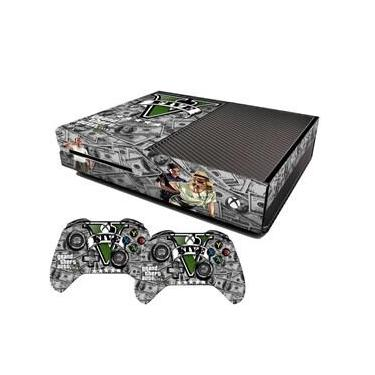 Skin Xbox One Fat Grand Theft Auto 5 Dólares