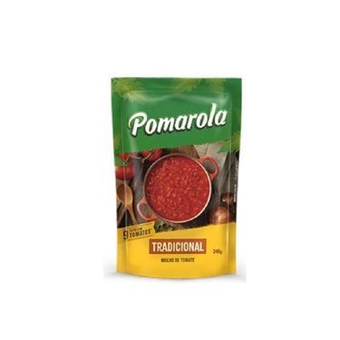 Molho Tomate Trad 340g Pomarola