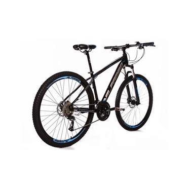 Bicicleta Aro 29 Alfameq ZT Freio Hidráulico Suspensão com Trava 24 Marchas Quadro 21