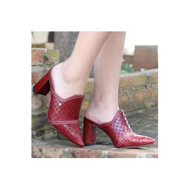 Sapato Mule Tanara Terracota Feminino T3183