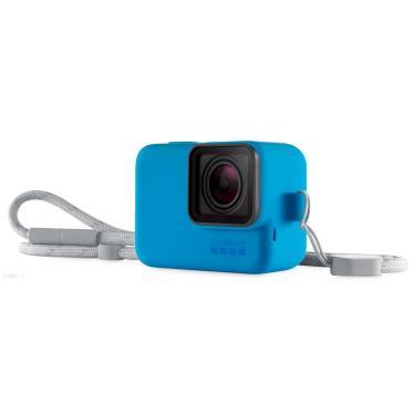 Imagem de Capa Protetora GoPro com Cordão - Azul ACSST-003