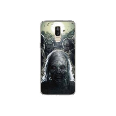 Capa para Galaxy J8 - The Walking Dead   Zumbis