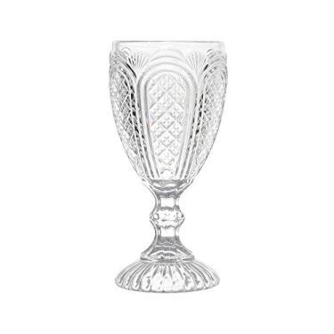 Conjunto de Taças para Água Paty - 6 Peças - 280 ml - Transparentes - Bon Gourmet