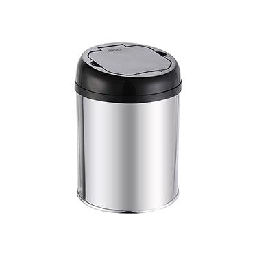 Lixeira Automática Sensor Clean 3 Litros Inox - Basic+