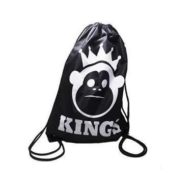 Bolsa Esportiva King`S Preto/Branco Unissex
