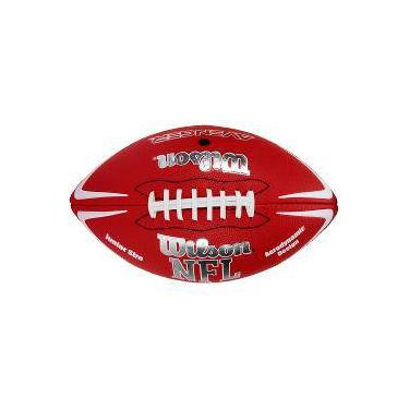 Bola De Futebol Americano Wilson Nfl Avenger Jr Vermelha c7c17e933521d