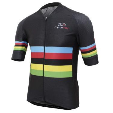 Camisa De Ciclismo Masculina Márcio May Pro Campeão Mundial Preta