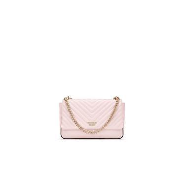 Bolsa Cross Victorias Secret Pebbled Vquilt Bond Street Rosé