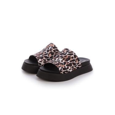 Imagem de Sandália Birken Tratorada Damannu Shoes Giulia Animal print Onça  feminino