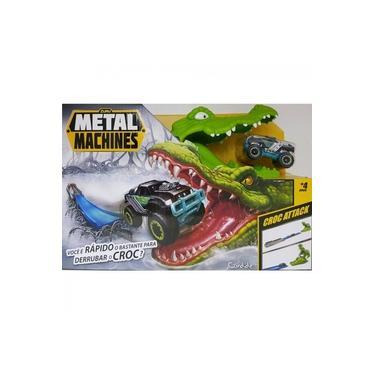 Imagem de Pista de Carrinho Metal Machines Croc Attack, Candide
