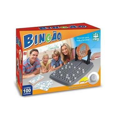 Imagem de Jogo Bingão 100 Cartelas - NIG Brinquedos
