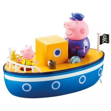 Imagem de Playset Peppa Pig Barco Do Vovô Dtc