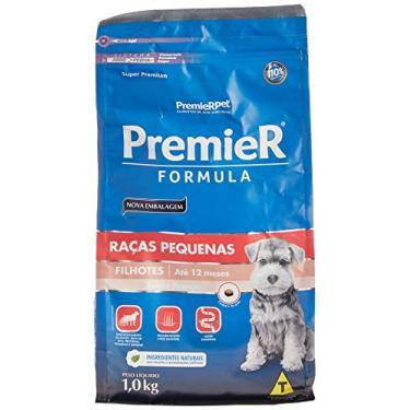 Ração Premier Fórmula para Cães Filhotes de Raças Pequenas Sabor Frango 1kg Premier Pet Raça Filhotes, Sabor Frango