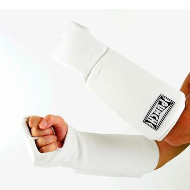 Protetor De Mão E Antebraço P/Caratê/Tkd Punch Unissex Adulto Branco