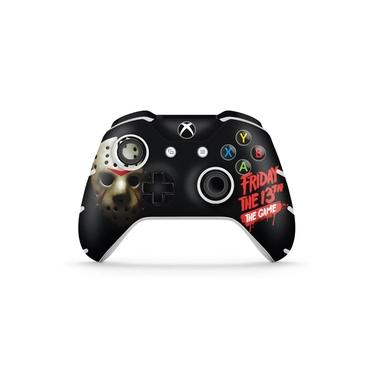 Skin Adesivo para Xbox One Slim X Controle - Friday The 13Th The Game - Sexta-Feira 13