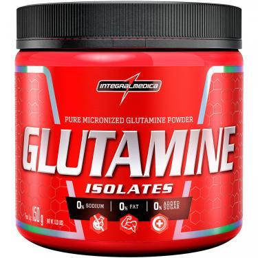 Glutamina Integralmédica Isolates - 150g Integralmédica Unissex