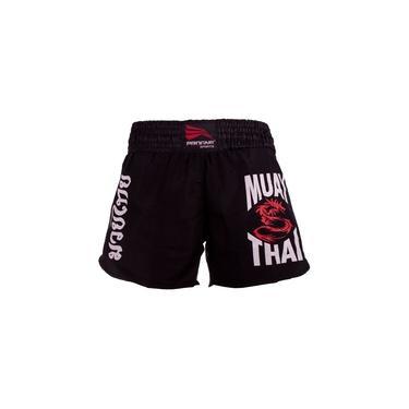 Short Muay Thai Feminino - Preto - M