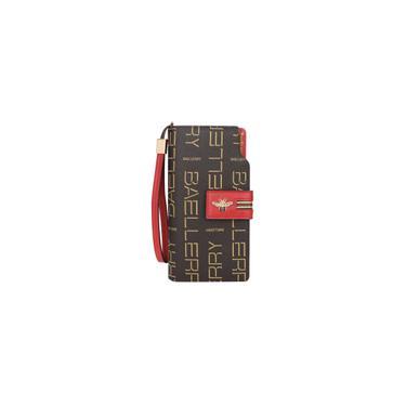 Carteira Cartão Bolsa Titular Feminino Longo Carteira das mulheres Pu Zipper Handbag