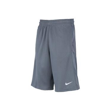 27052ddd5d Bermuda Nike Layup 2 - Masculina - CINZA ESCURO BRANCO Nike