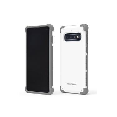 Capa Protetora PureGear DualTek Extreme Shock para Samsung Galaxy S10 6.1 - Branco/Cinza