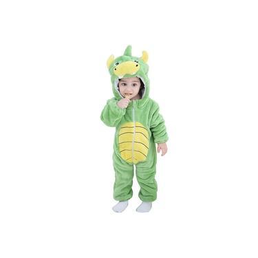 Pijama Macacão Kigurumi Dinossauro Bebê