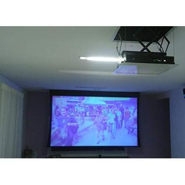 Lift para Projetor Elevador para Projetor Elétrico 110v Interno 40x40x15cm com Controle Remoto Notecom