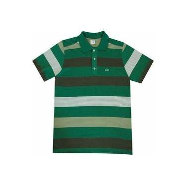 Camisa Polo Pau a Pique Verde 57c291ce99218