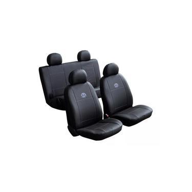 Capa Banco Carro Couro Courvin Volkswagen Gol G5 4 Portas