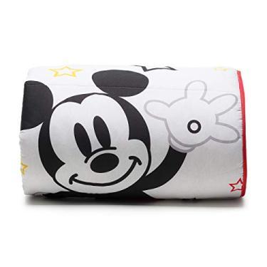 Imagem de Edredom Disney Mickey Play Dupla Face Santista - Solteiro - Vermelho