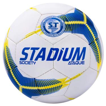 Bola Society Ataque Ix Stadium 69 Cm Amarelo
