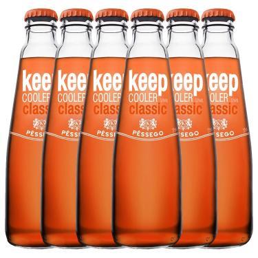 Keep Cooler Classic Pêssego 6 Unidades de 275 ml