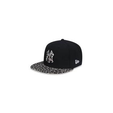Bone 950 New York Yankees Mlb Aba Reta Snapback New Era 46499998153