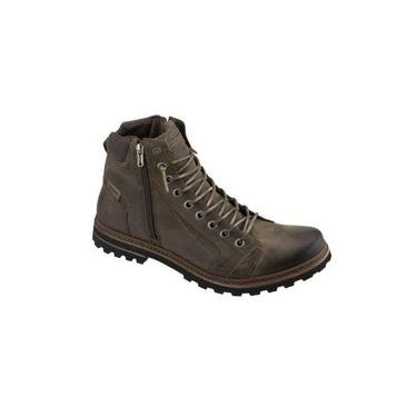 Freeway Bota Casual Masculina Absolut1l Cor Capuccino