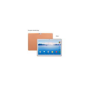 Tablet de plástico KT107 10,1 polegadas Android versão 8.10 Tablet 8G + 64G Gold Tablet