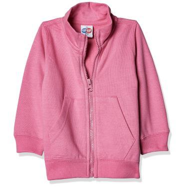 Blusão de moletom, Tip Top, Meninas, Rosa, 6