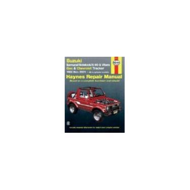 Imagem de Livro - Suzuki Samurai/Sidekick/X-90 & Geo & Chevrolet Tracker: 1986 Thru 2001: All 4-Cylinder Models