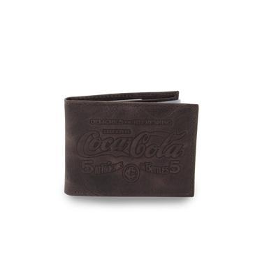 Carteira Coca Cola 05380 Couro Masculina
