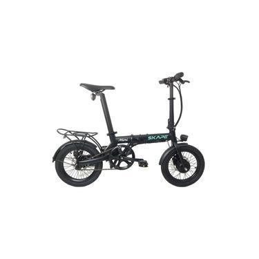 Imagem de Bicicleta Elétrica Dobrável Skape Mini / 250w / Bateria de Litio / 14kg / Preta