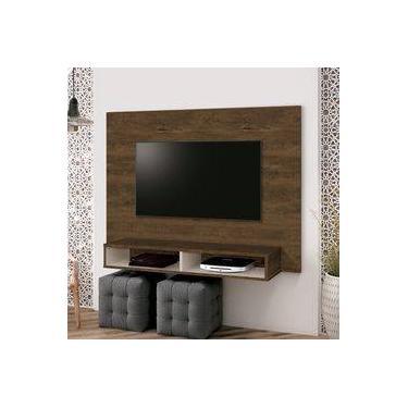 Painel para TV até 40 Polegadas Fox EDN Móveis Nogal Rústico/Off White