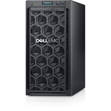 "Servidor Dell PowerEdge T140 poweredge-t140 pe_t140_13161_bcc_1 Intel® Pentium Gold G5420 3.8GHz, 4M cache, 2C/4T, no turbo (58W) 8GB UDIMM DDR4 de 2666 MT/s 1TB SATA cabeado, 6 Gbps, 7200 RPM e 3,5"""