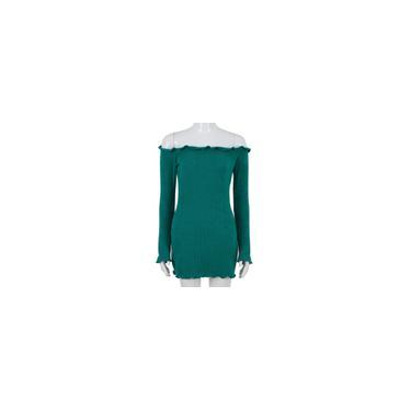 Sexy Alças Vestido Bodycon Pacote de Hip Bottoming Dress For Outono Inverno-Bestow