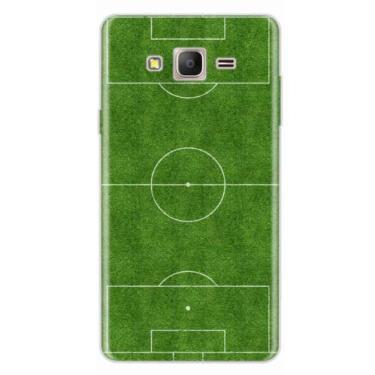 Capa para Galaxy On 7 Campo de Futebol