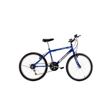 Imagem de Bicicleta Aro 26 Masculina Adulto 18 Marchas Azul