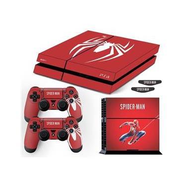 Adesivo Skin Playstation 4 Fat Spider Man Edição Limitada